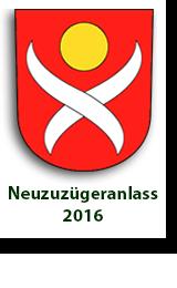 Neuzuzügeranlass 2016
